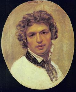 Zelfportret van Karl Pavlovich Brullov (1799-1853)