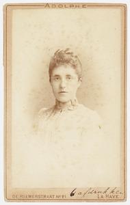 Portret van Frederike Wilhelmine van Ittersum (1864-1939)
