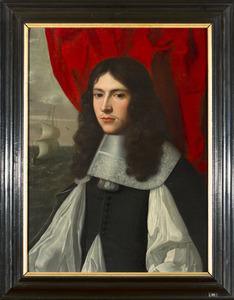 Portret van een man, waarschijnlijk uit de familie Steengracht-Van der Poort