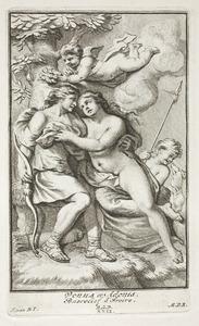 Venus en Adonis (pl. XXII)