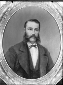 Portret van Paulus Ocker Hendrik Gevaerts (1827-1912)