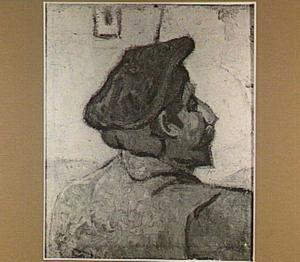 Man met een rode baret