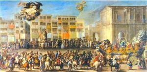 Carro del Aire uit de Maskerade van 1748