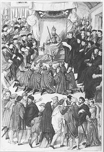 De bestraffing van Gent door keizer Karel V op 30 april 1540