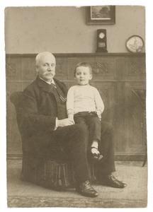 Portret van Adolph Warner van der Wyck (1842-1927) en Adolph Jurjans (1905-1973)