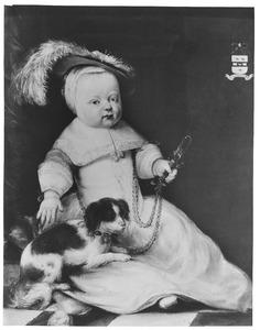 Portret van Justinus van Moerkerken (1659-1686)