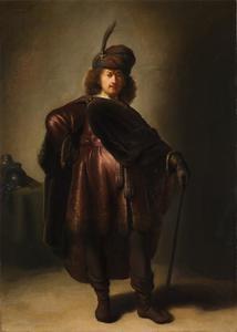 'Zelfportret' van Rembrandt in oosterse kleding