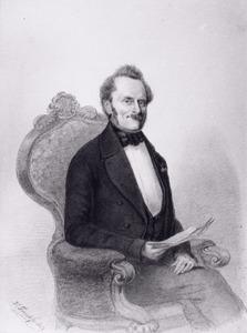 Portret van Wilhelmus Hendrikus Rappard ( -1856)
