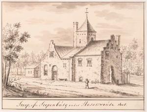 Het huis Stoop of Stopenburg bij Koudekerk aan den Rijn en Hazerswoude-Rijndijk in het jaar 1608