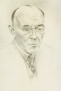 Portret van Jacobus Cornelis Bloem (1887-1966)