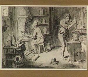 Werkplaats van een alchemist