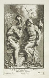 Jezus Christus gedoopt door Johannes (pl. XIV)