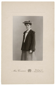 Portret van Jeanne Hubertine Bowier (1883-1969)