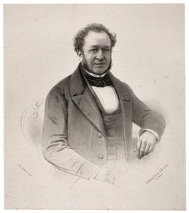 Portret van Leopold Johannes Antonius van der Kun (1801-1864)