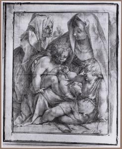 Maria met Kind, H. Elizabeth en het kind Johannes de Doper