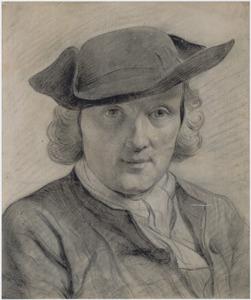 Portret van de kunstenaar op 23-jarige leeftijd