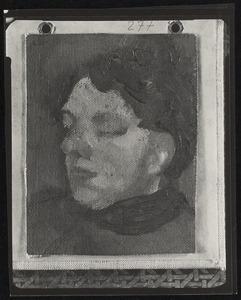 Portret van Agnita Feis