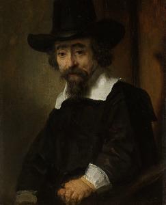 Portret van een man, waarschijnlijk Ephraïm Bueno (1599-1665)