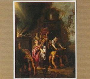 Het dankoffer van Noach en de zijnen (Genesis 8:20-22)