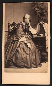 Portret van Maria Catharina van den Brandeler (1819-1886)