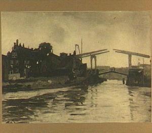 Ophaalbrug te Amsterdam