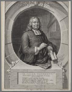 Portret van Jan Isaak Rauwertz (1712-1773)