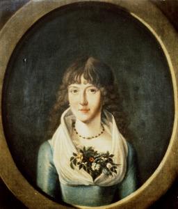Portret van Helena Gertrudis Maria Josepha van Voorst tot Voorst (1771-1852)