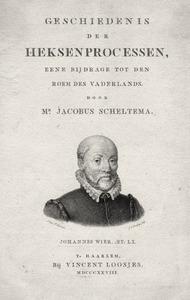 Portret van Johannes Wier (1515-1588)