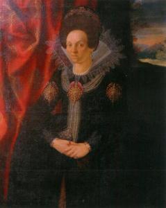 Portret van Hedwig von Hessen-Kassel (1569-1644)
