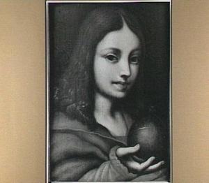 Christus als jongen met rijksappel