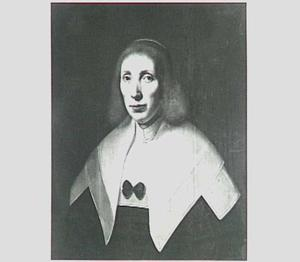 Portret van een vrouw, waarschijnlijk Janke van Donia