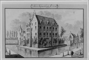 Achter- en linkerzijde van Rijsenburg bij Driebergen