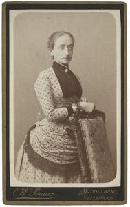 Portret van Emilie Köhnen (-1923)