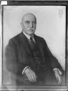 Portret van Cornelis Charles Theophilus Six (1854-1944)
