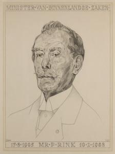 Portret van Pieter Rink (1851-1941)