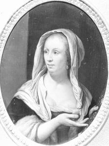 Borststuk van een vrouw (Cunera van der Cock als waardin?)