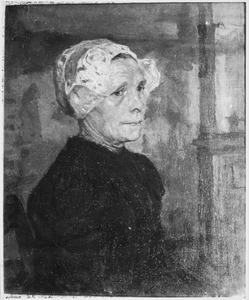 Portret van een Larense vrouw