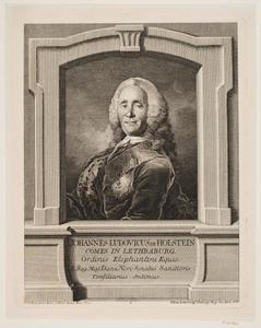 Portret van de kunstverzamelaar Johan Ludvig Holstein (1694-1763)