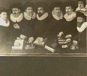 Regenten van het Wees- en Aalmoezeniershuis te Gouda, 1636