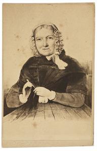 Portret van Johanna Benjamina van Thije Hannes (1771-1856)