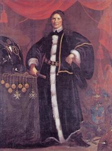 Portret van Cort Sivertsen Adeler (1622-1675)
