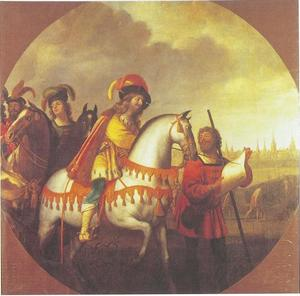 Beleg van Kopenhagen door Frederik I in 1523
