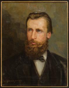 Portret van John van den Wall Bake (1837-1875)
