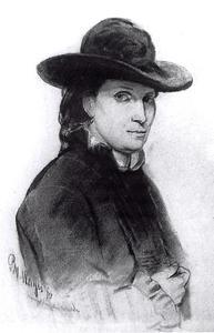Portret van Catharina Maria Uittenboogaart (1851-1916)