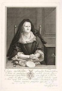 Portret van Esther Barbara Bloemart (1651-?)