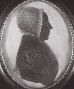 Portret van Johanna Jacoba Beeldsnijder (1722-1800)