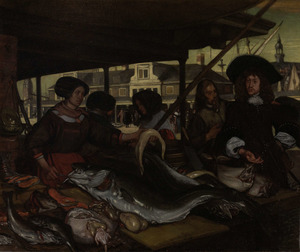 De Nieuwe Vismarkt te Amsterdam