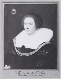 Portret van Maria van der Veecken (1580-1653)