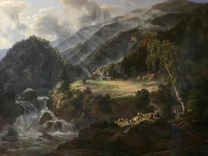 Noorse bergvallei