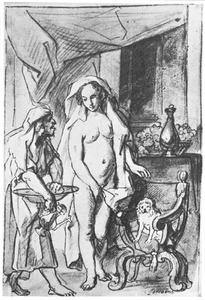 Het toilet van Judith in het kamp van Holofernes (Judith10:1-5)
